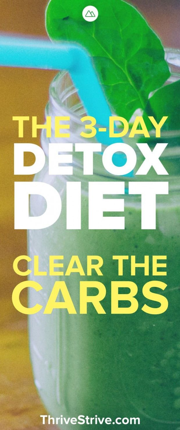 Looking to lose weight with a carb detox? This 3-day diet detox plan will help y...