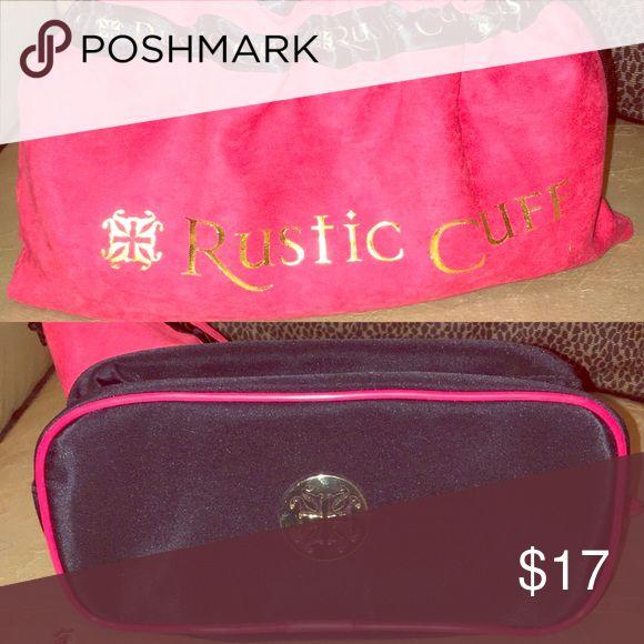 Rustic Cuff Bag w/ duster bag BRAND NEW Rustic Cuff travel bag (Black & Red) Rustic Cuff Bags Travel Bags