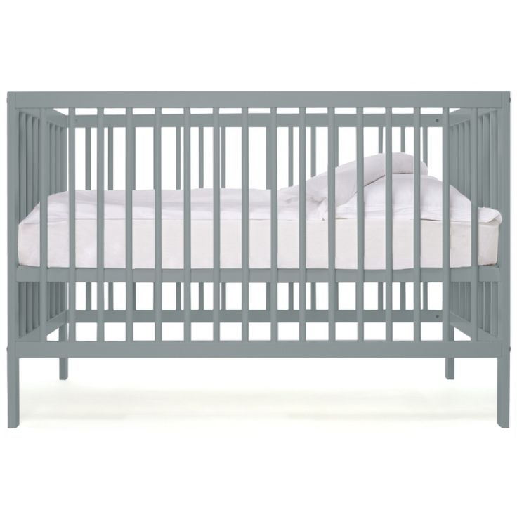 moKee mini cot - Stone Teal colour.