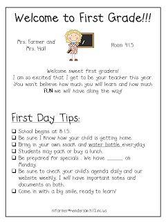 First Grade with a Cherry on Top: meet the teacher