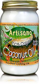 Coconut Oil for Hair and Skin: Gourmet Food, Extra Virgin, Organizations Coconut Oil, Organizations Raw, Raw Coconut, Natural Food, Coconut Oil Skin, Artisana 100, Virgin Coconut