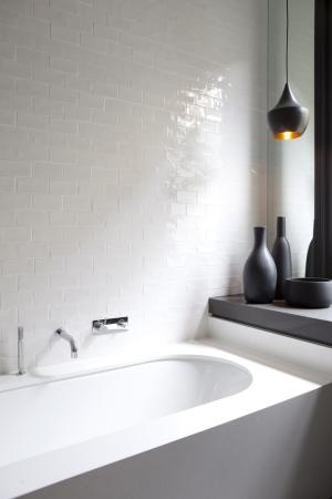 RAF Residence by Mim Design, white bathroom