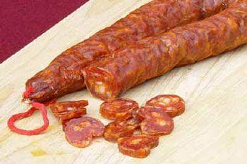 Calabrian sausage - Longaniza calabresa