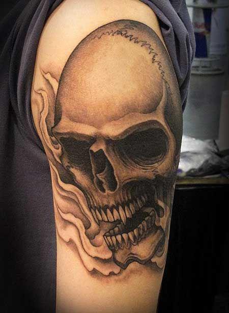 significado de tatuagem de caveira tatuagens