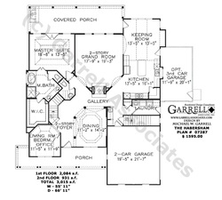 9 best house plans images on pinterest european house for Habersham house plans