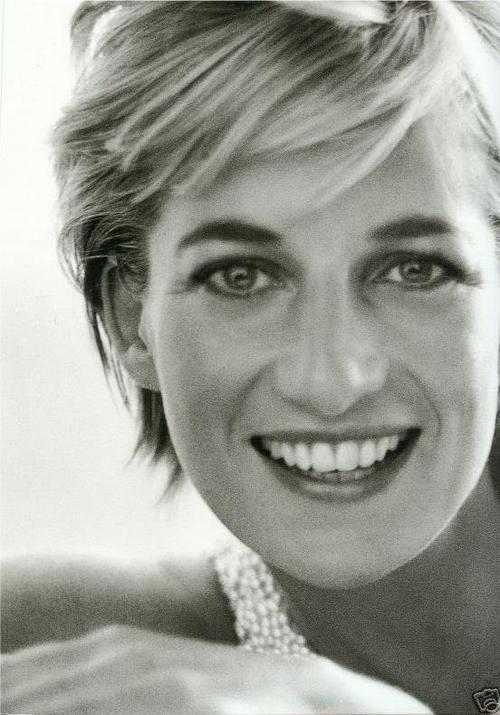 Princess Diana. She was a beautiful lady..