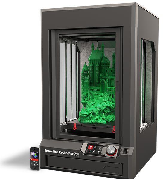 MakerBot Replicator Z18 3D Printer $6,499