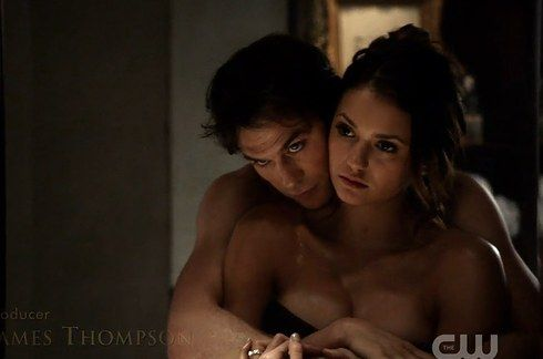 "Elena and Damon | ""The Vampire Diaries"" Cast: Season 1 Vs. Season 6"