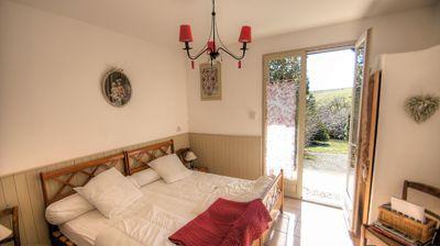 Une des chambres d'hôtes et gîte à vendre à St-Verand dans le Beaujolais