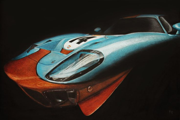 Gulf GT40 by GoodieDesign.deviantart.com on @deviantART