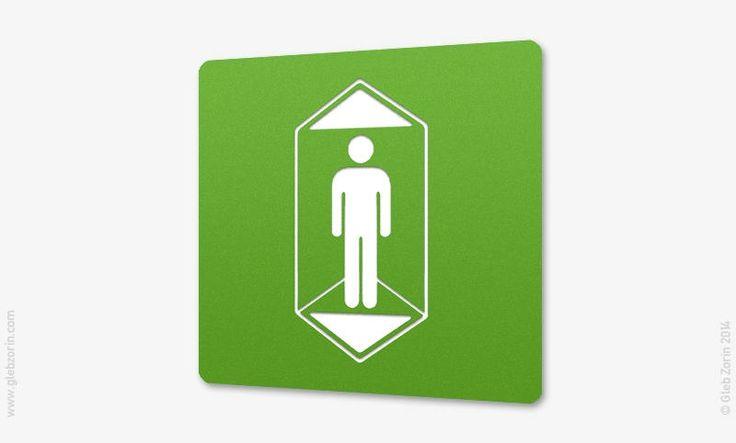 Elevator sign idea