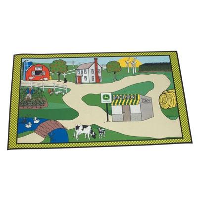 John Deere Scenic Floor Rug for Children   MonsterMarketplace.com