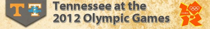 Former Tennessee athletes competing in the 2012 Olympic Games in London