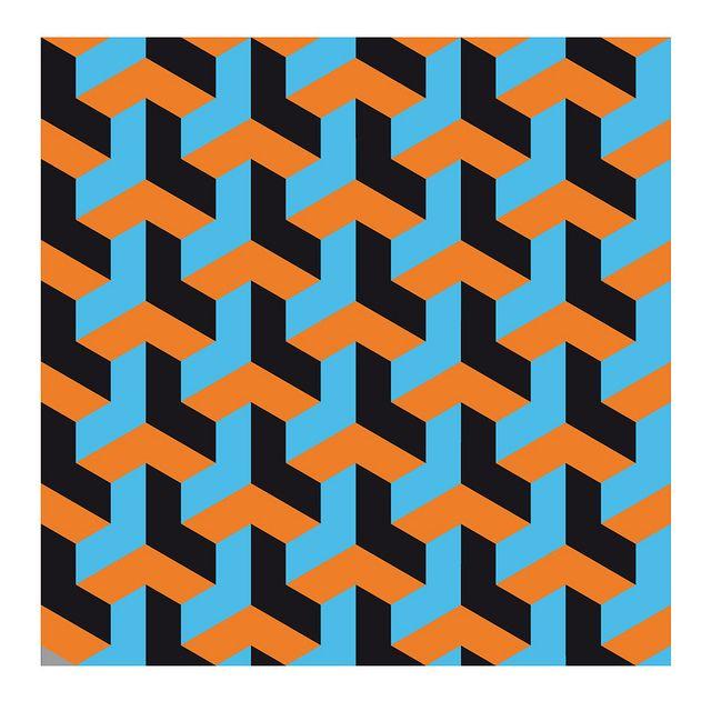 op art necker cube varient 2 by hoppermind, via Flickr