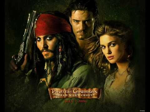 Music from the Pirates of the soundtrack. I think this might come in useful for either the opening or credits. It's not too familiar as a piece of music, but still relevant, which would prevent the music from being too distracting.