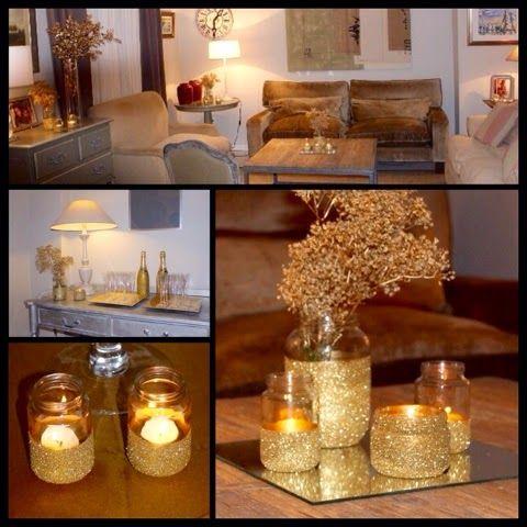montaje mesa de dulces dorado buscar con google
