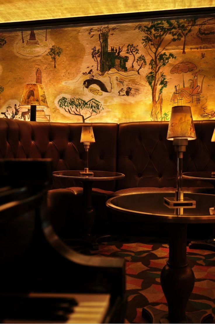 Best 25 jazz bar ideas on pinterest jazz club jazz for Bemelmans bar mural