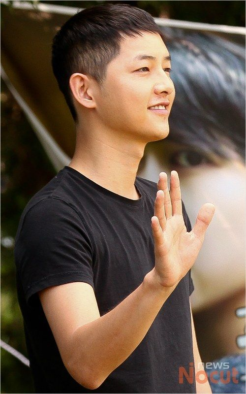 Song Joong Ki's enlistment *37
