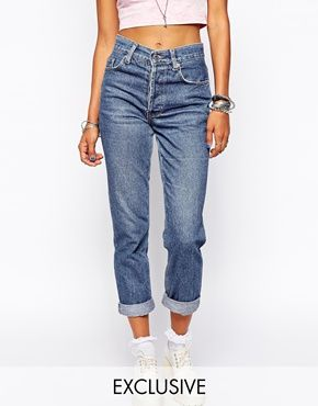 Enlarge Milk It Vintage High Waisted Mom Jeans