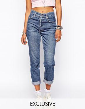 Vergrößern Milk It – Vintage-Mom-Jeans mit hoher Taille