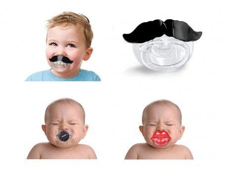 Origineel Kraamcadeau | veel leuke baby cadeaus | grappige speen met snor van FRED | ZOOK.nl