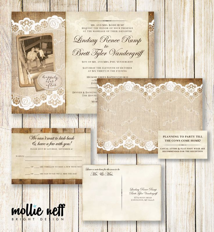design your own postcard invitations