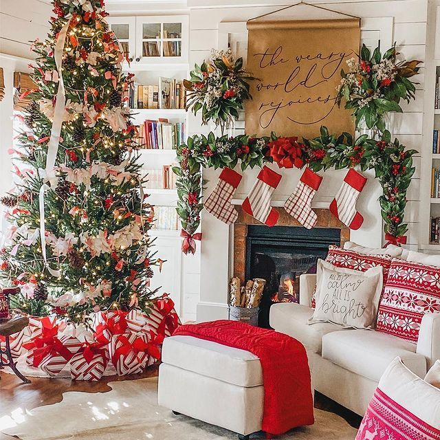 Southern Homes And Gardens Christmas Trees