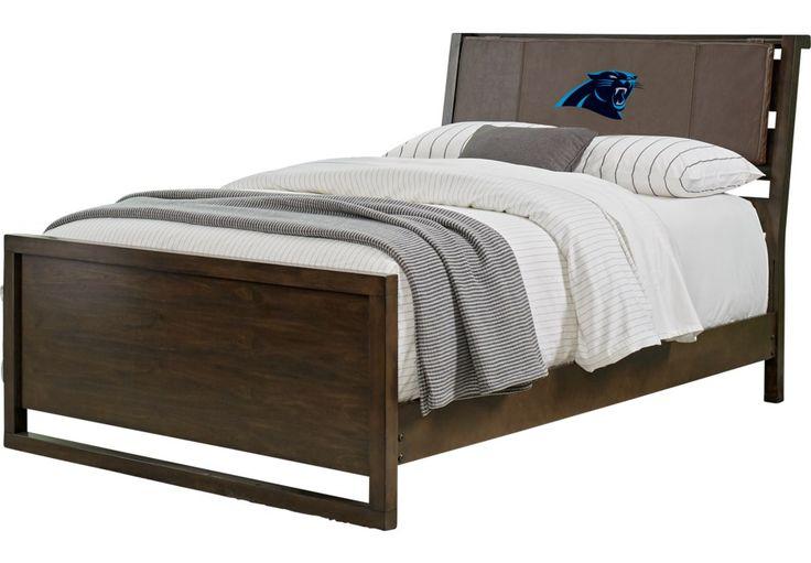 Nfl 1st Amp Goal Carolina Panthers Brown 3 Pc Full Panel Bed