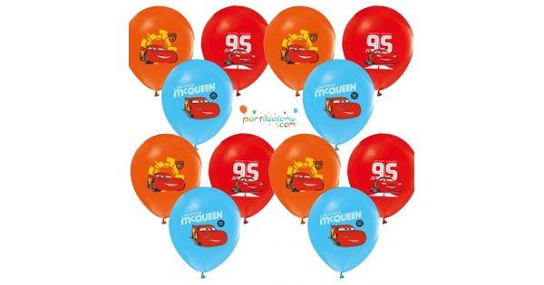 Cars Balon (20 Adet)Şimşek Mcqueen Balon Ürün ÖzellikleriÜrün Paketinde 20 Adet Şimşek Mcqueen Baskılı Balon bulunur.Cars balonlar canlı baskı ve kalitelidir.Cars temalı balonlar karışık renkte gönderilmektedir.. Parti Süsleme malzemeleri arasından en çok tercih edilen üründür.Diğer Parti Balonların