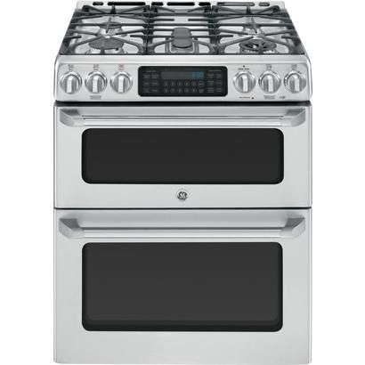 """CCGS990SETSS 30"""" Free-Standing Gas Double Oven with Convection Range - Stainless Steel"""