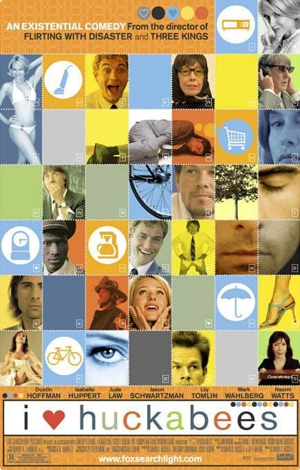 I <3 Huckabees.: Movie Posters, Movies, Huckabe 2004, Huckab 2004, Film Posters, I'M, Favorite Movie, Watches, Heart Huckabe