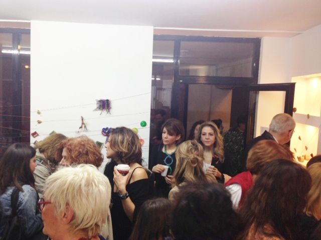 Brooche Exhibition Opening 05/04/2014