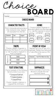 Upper Elementary Snapshots: 3 - Respond to Text Printables