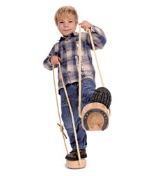 """fun toys.....i would never pay this much for the horse shoe """"stilts"""", but they are neat!"""