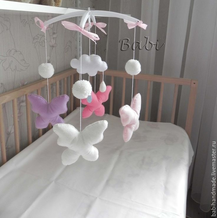 "Мобиль на кроватку ""Бабочки"""