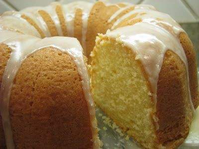 Old Fashion Homemade Pound Cake
