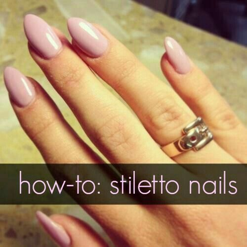 The 25 best rounded stiletto nails ideas on pinterest round pink stiletto nails solutioingenieria Image collections