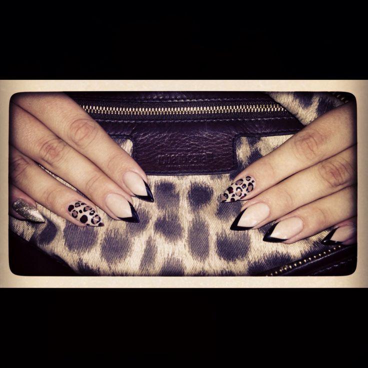 My stiletto nails by anna