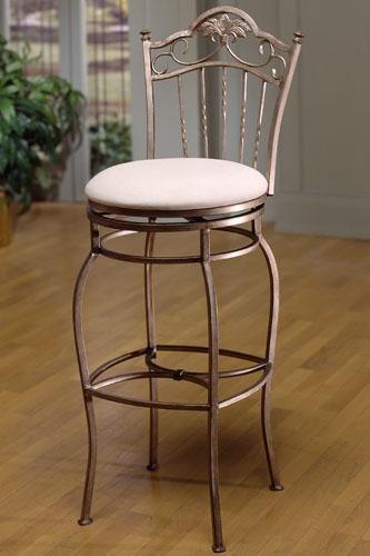 bordeaux-wrought-iron-swivel-bar-stool-ideas
