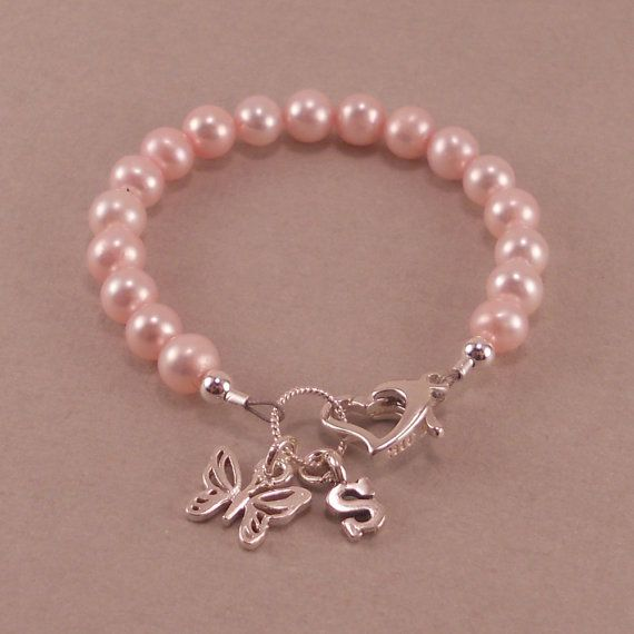 Baby Girl Gift, Childs Bracelet, If we could afford it this would totally be Eden's Christmas something to wear