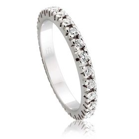 Diamond Wedding Ring in Platinum
