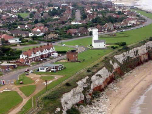 Hunstanton, Norfolk. From the air