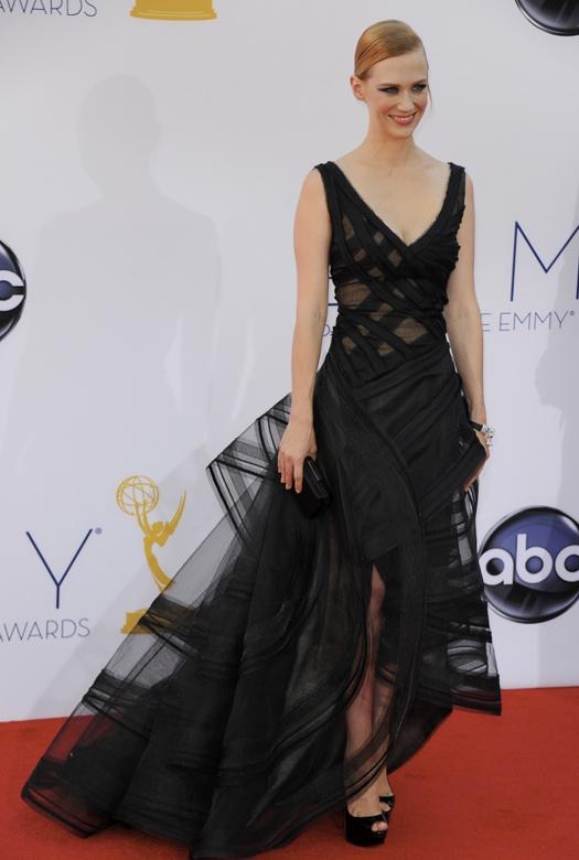 Emmy 2012: платья звезд  Дженьюари Джонс