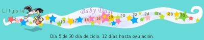 dia 12 de 30 dia del siclo hasta la ovulacion