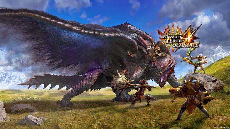TinyBigGamer: Top Japão: Monster Hunter 4 em primeiro mais uma v...
