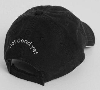hat baseball baseball cap cap black deag grunge