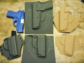 DIY Holster Tips & Tricks: Making Durable Templates - the key to speeding up production