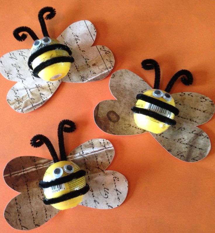 EOS Bees! I made these for my Beehives as their birthday gift when they graduate into Mia Maids. #YW #Beehives #EOS