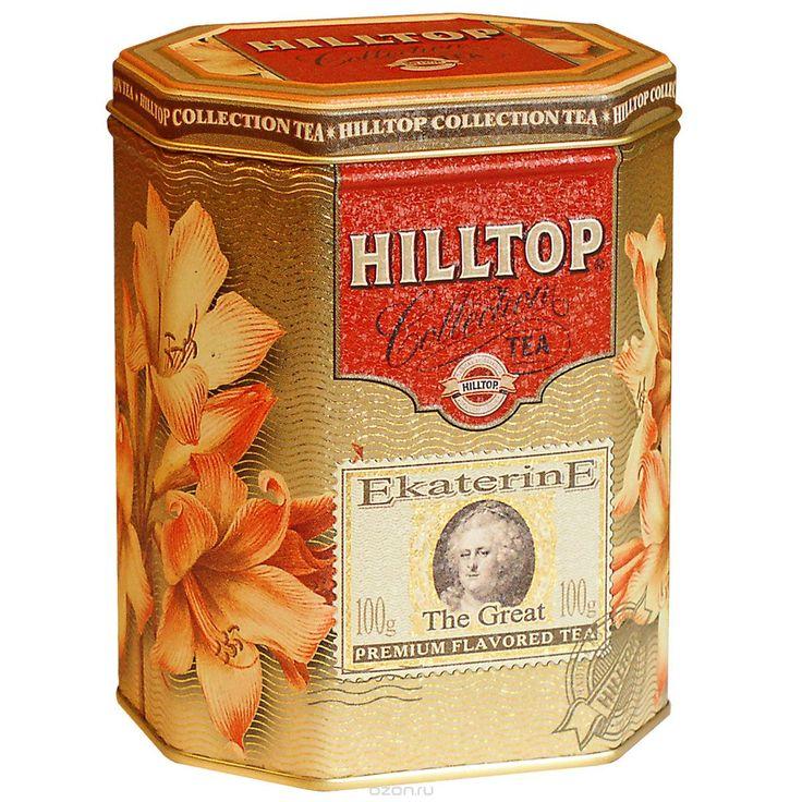 315 = Hilltop Екатерина Великая черный листовой чай, 100 г в интернет-магазине OZON.ru