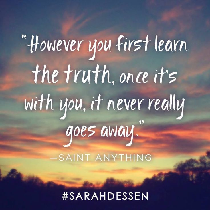 Don't miss SAINT ANYTHING, the latest book from best selling author Sarah Dessen!